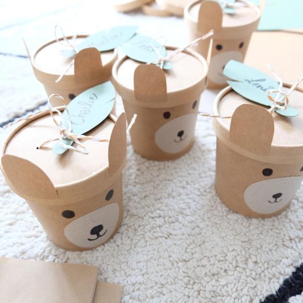 Bärengeburtstag Kinder DIY 10