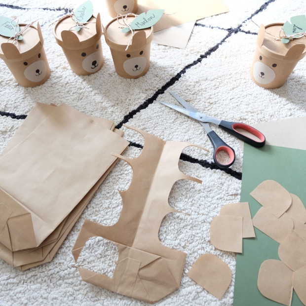 Bärengeburtstag Kinder DIY 11