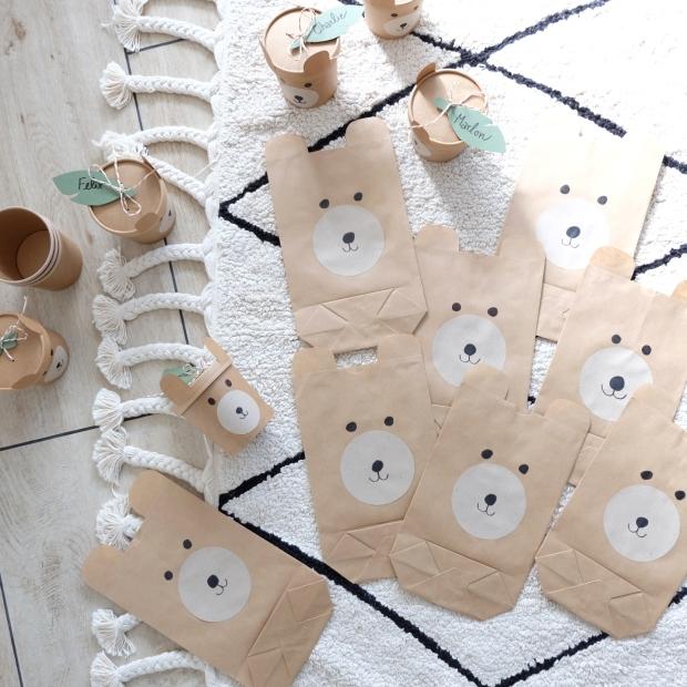 Bärengeburtstag Kinder DIY 14