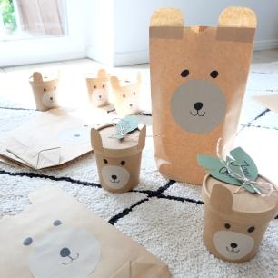 Bärengeburtstag Kinder DIY 17