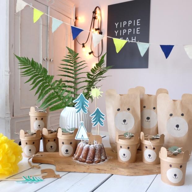 Bärengeburtstag Kinder DIY 18
