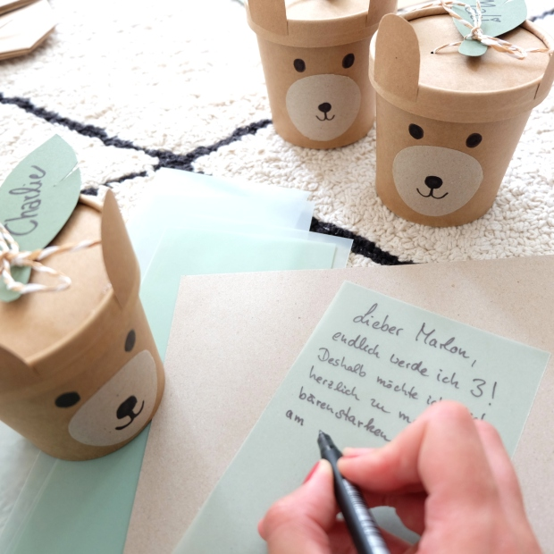 Bärengeburtstag Kinder DIY 8