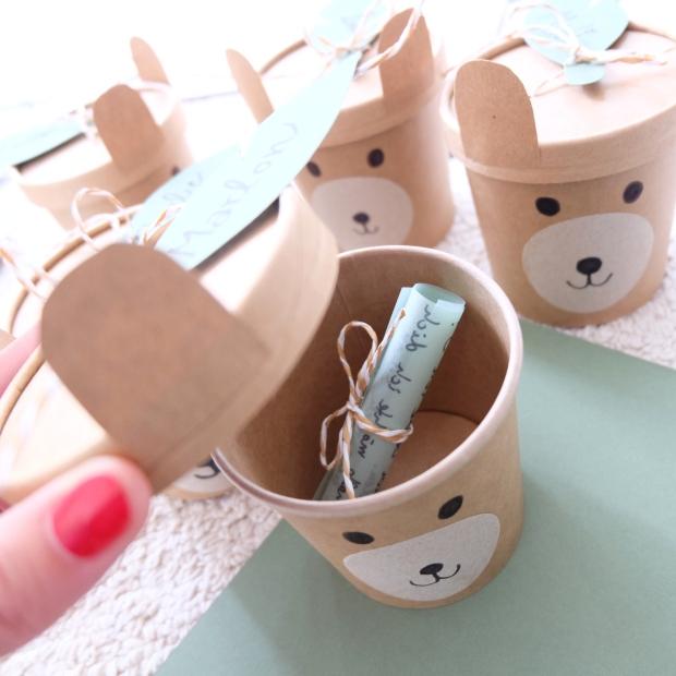 Bärengeburtstag Kinder DIY 9