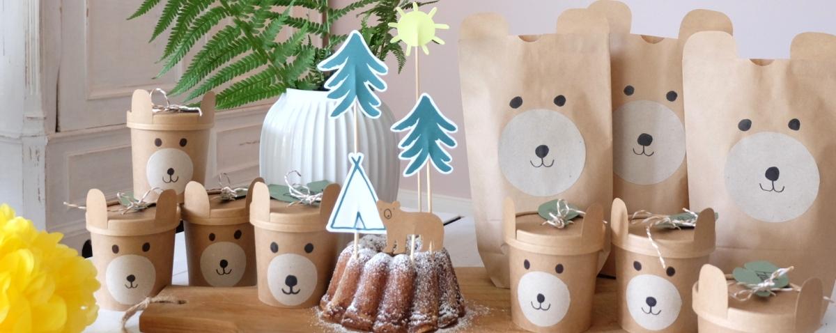 bärenstarke Geburtstagsparty für Kinder // DIY
