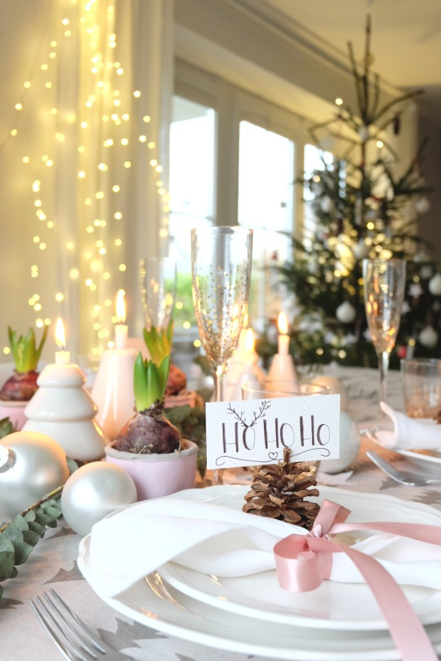 Tischdekoration Weihnachten 10