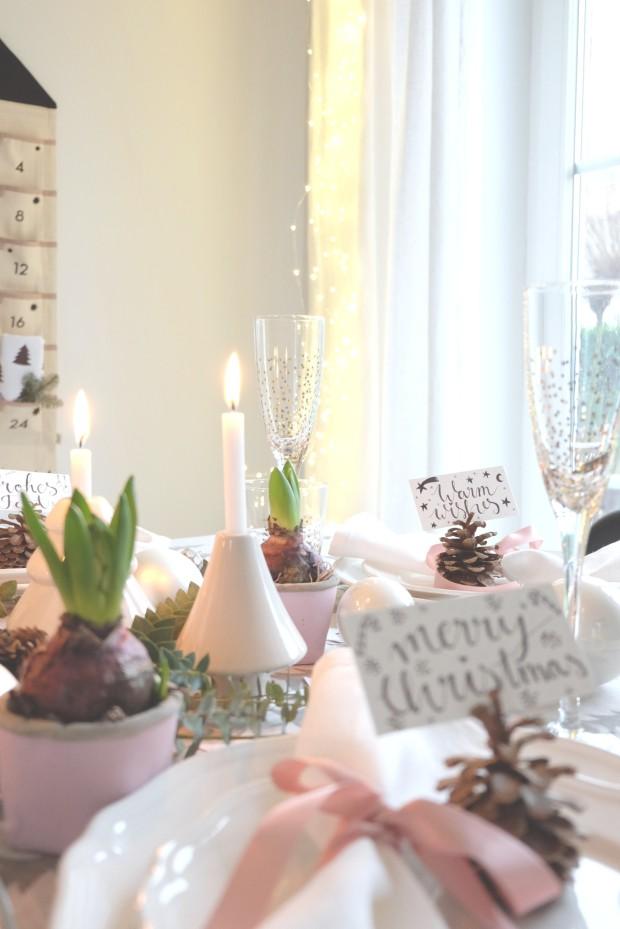 Tischdekoration Weihnachten 5