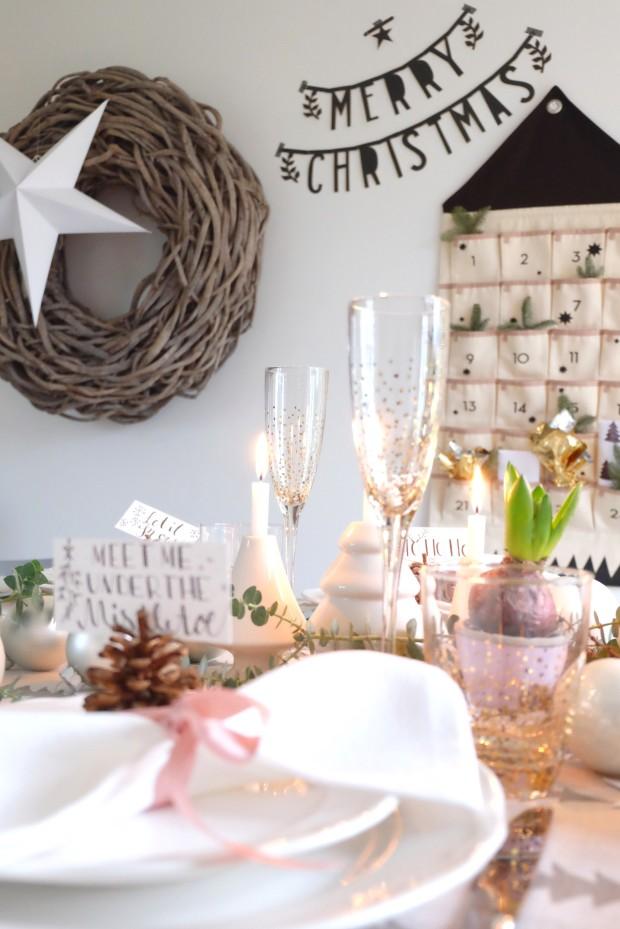Tischdekoration Weihnachten 9