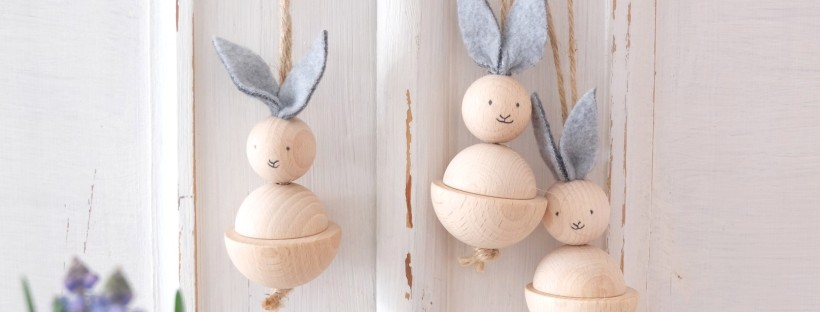 Werbung Unbeauftragt Osterhasen Aus Holz Basteln Schnelles Diy