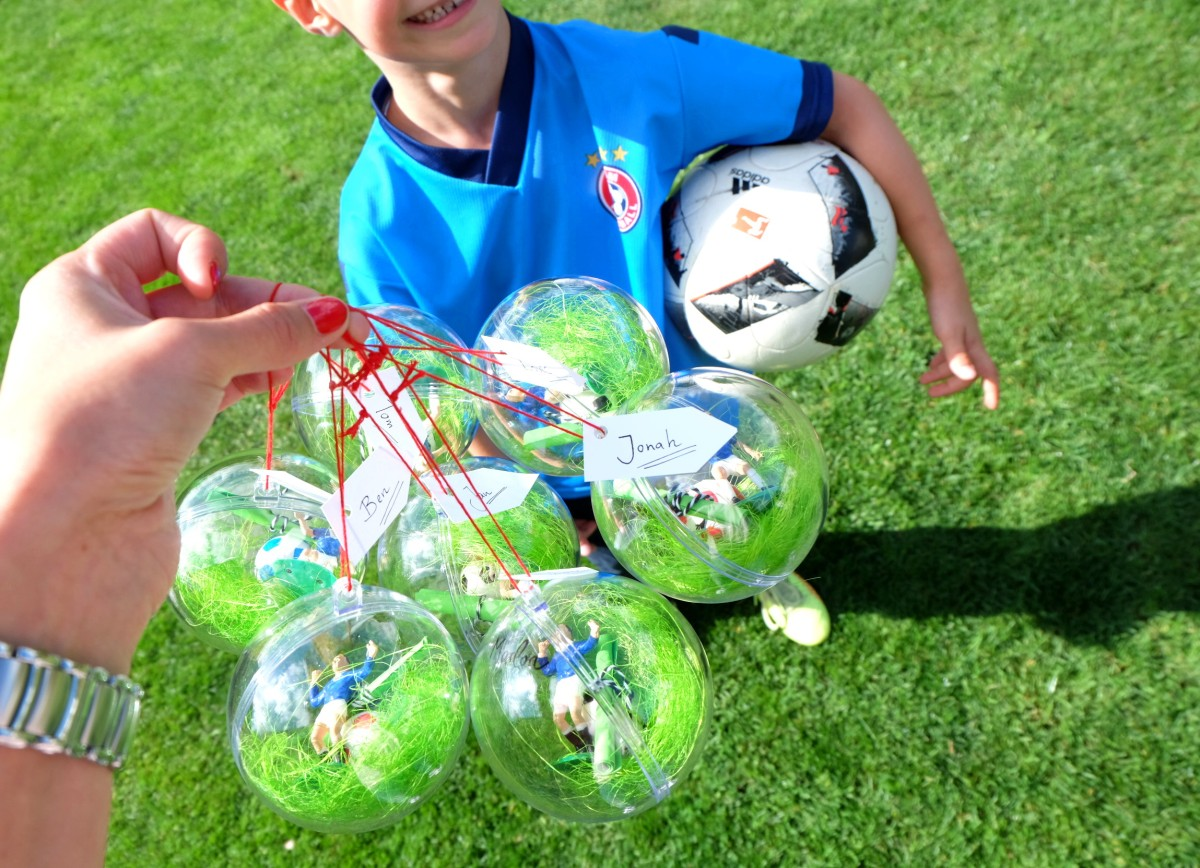 Werbung/ Fussballgeburtstag - Mottoparty für Kinder