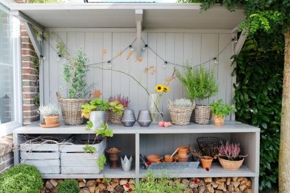 Herbst Garten Titel