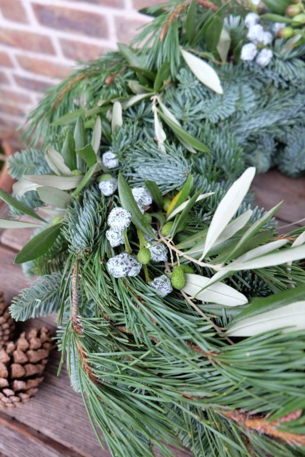Adventskranz DIY Weihnachten 6