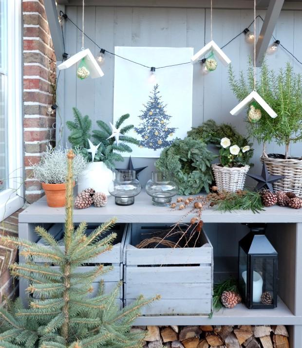 Vogelhäuschen DIY Weihnachten Geschenk 2