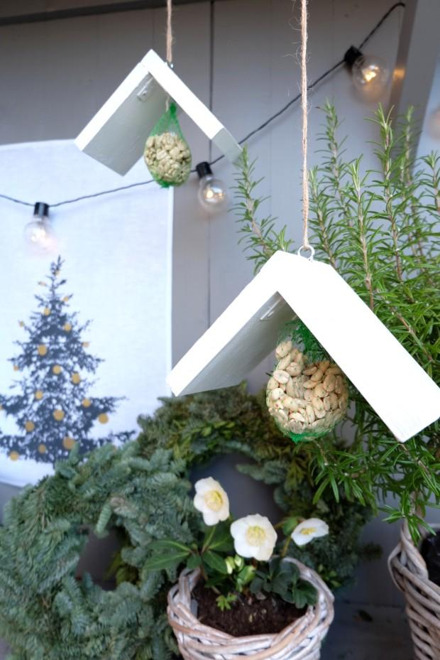 Vogelhäuschen DIY Weihnachten Geschenk 5
