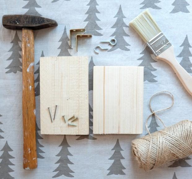 Vogelhäuschen DIY Weihnachten Geschenk 6