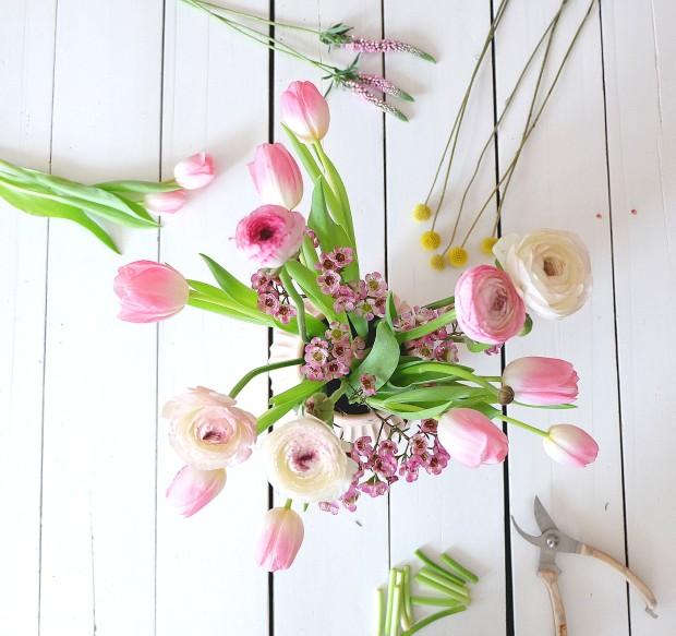 Frühlingsstrauß Blumen 11
