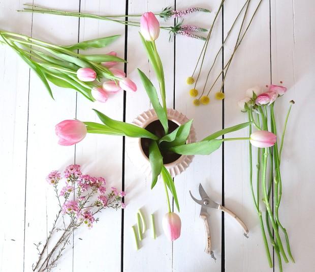 Frühlingsstrauß Blumen 14