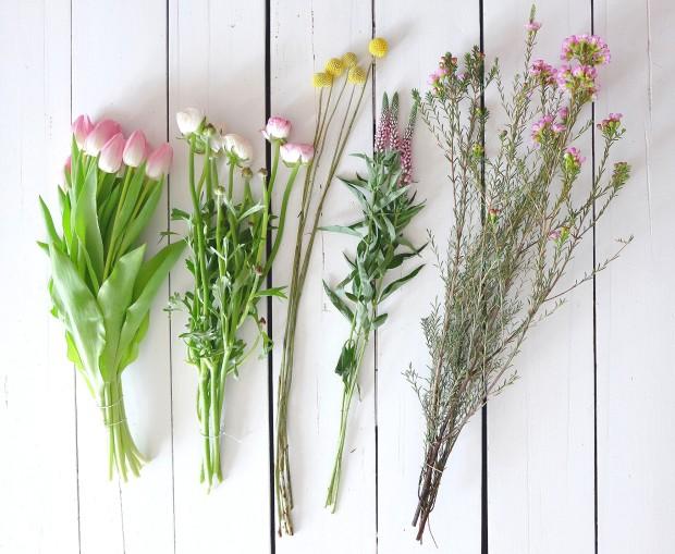 Frühlingsstrauß Blumen 21