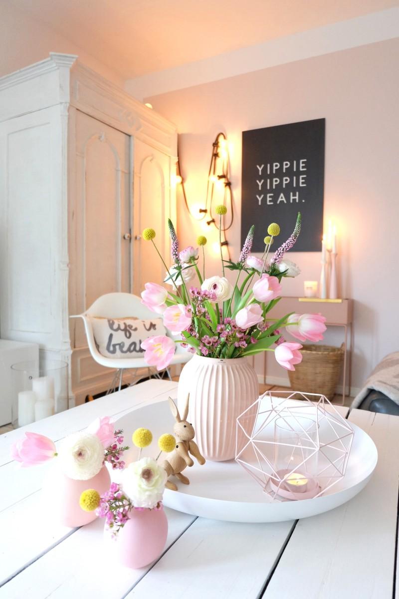 Werbung / Ein Frühlingsstrauß zum nachshoppen und Blumen richtig arrangieren. Tipps und Tricks.