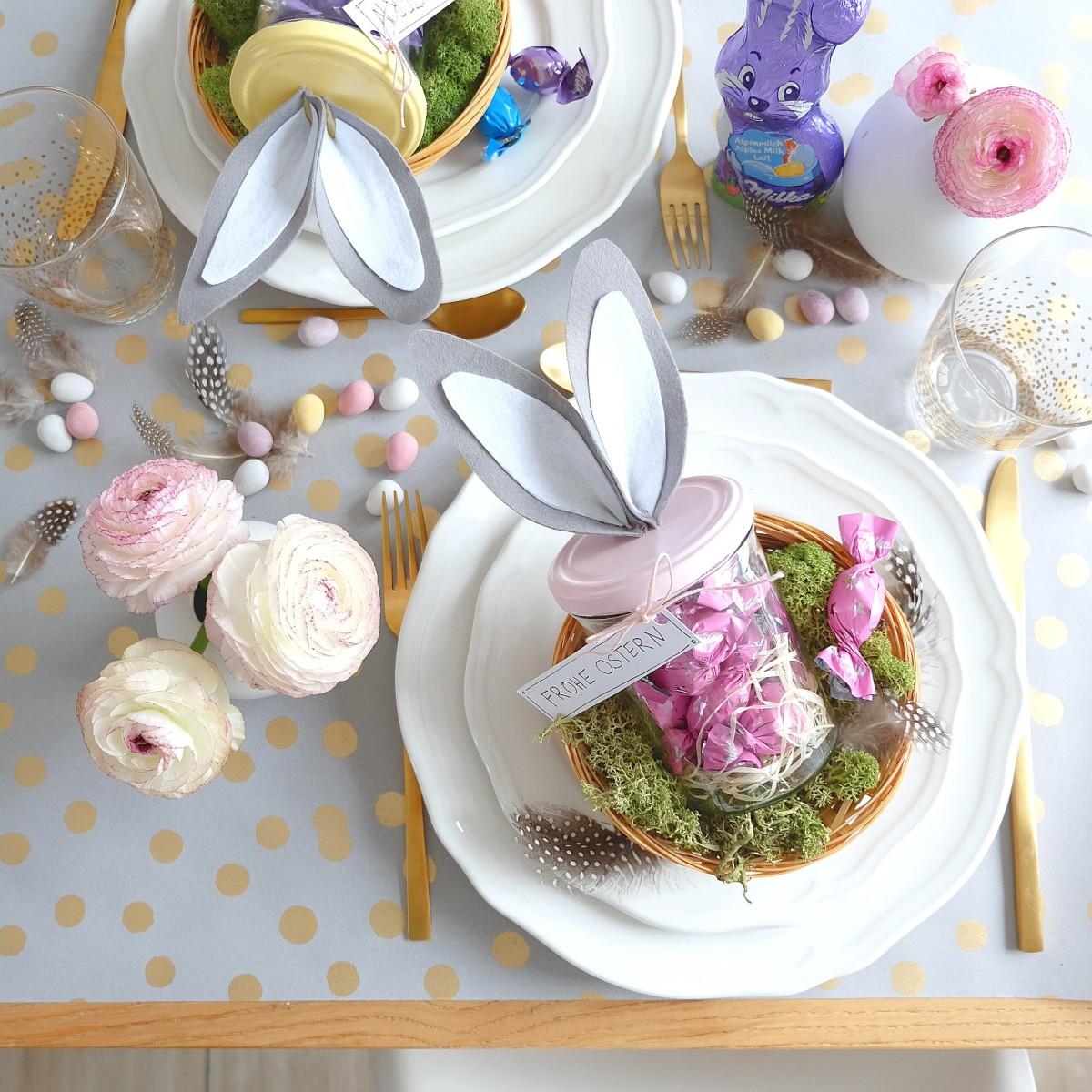 Werbung/ Ostergläschen basteln mit Milka / DIY Geschenk zu Ostern