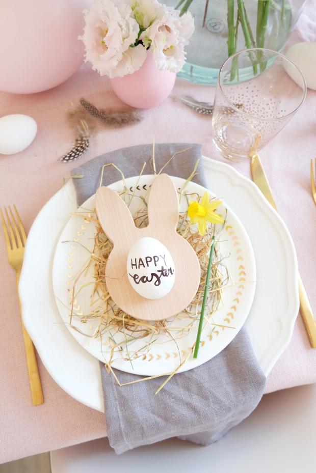 Ostern Tischdeko Dekoration Eier diy 4
