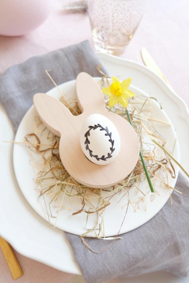 Ostern Tischdeko Dekoration Eier diy 5