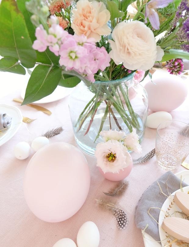 Ostern Tischdeko Dekoration Eier diy 8